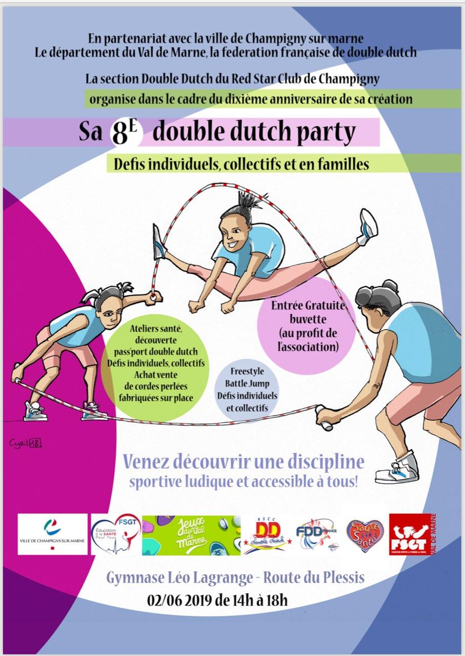 8ème Double Dutch Party - 2019