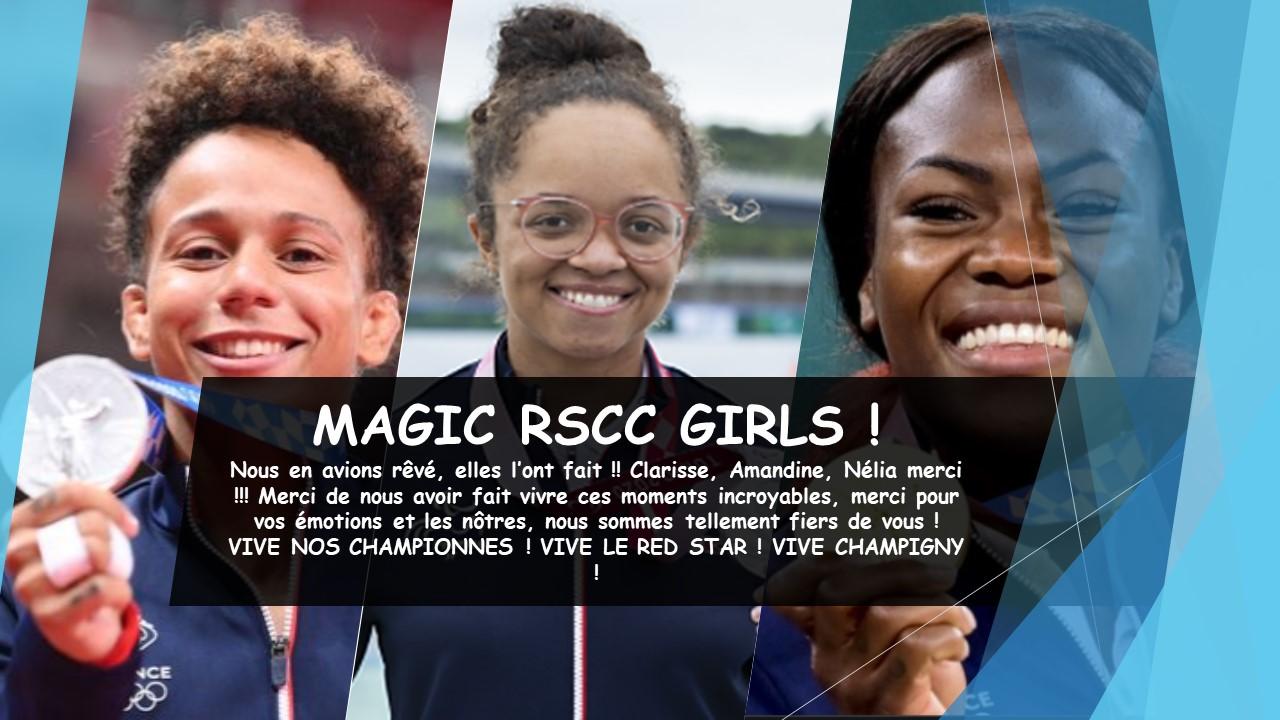 RSCC RED STAR CLUB CHAMPIGNY JO TOKYO CLARISSE AMANDINE NELIA